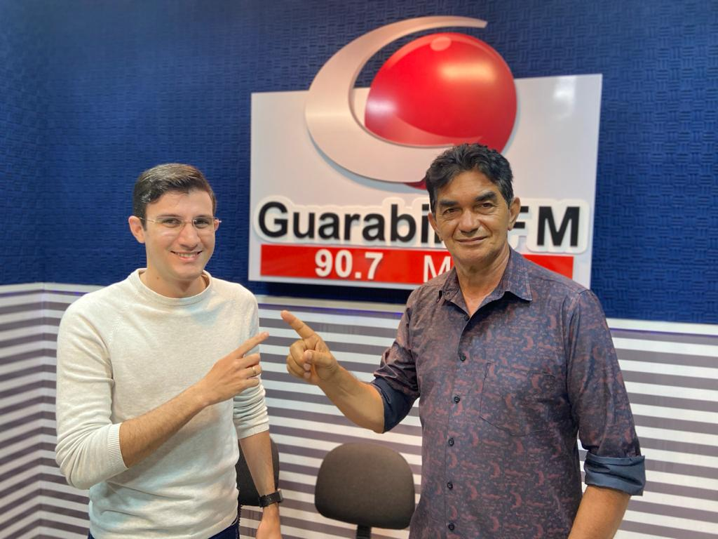Guarabira FM estreia Balanço Geral local com Martins Júnior e Ewerton Douglas