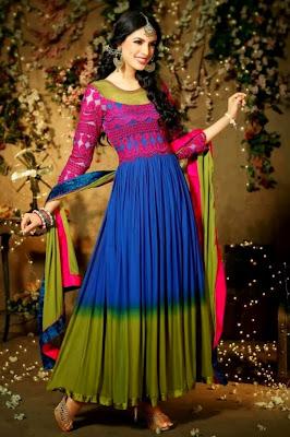 Fashion Amp Fok Anarkali Churidar Salwar Kameez Suits 2015