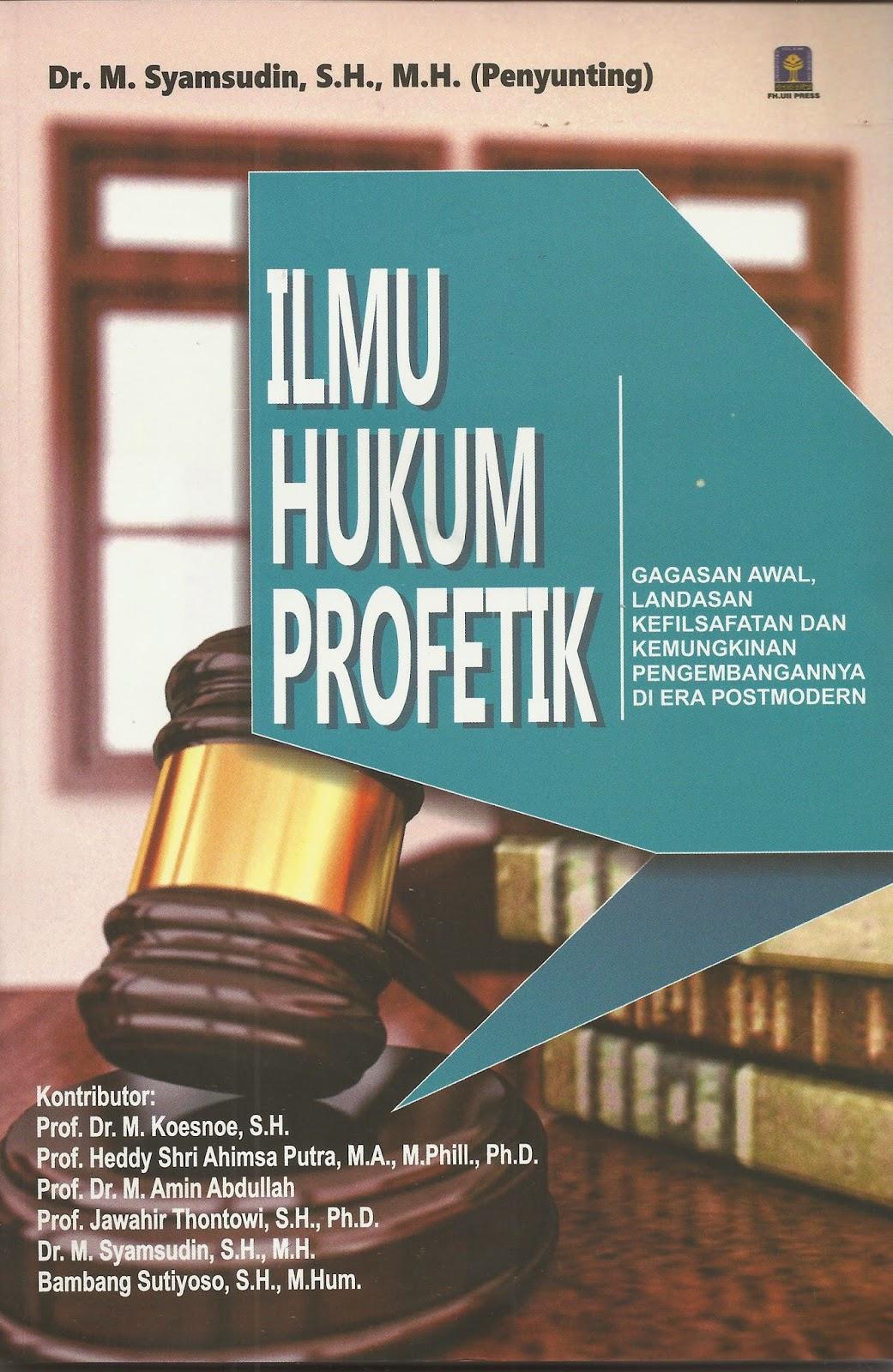 ILMU HUKUM PROFETIK