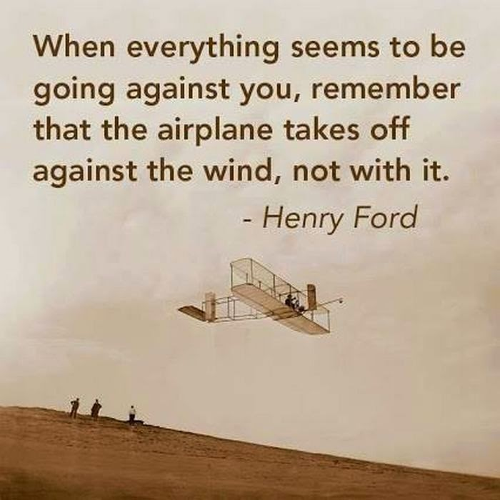 Henry Ford Inspirational Quotes on Wind