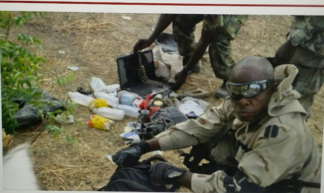 Troops destroy 'ready-to-explode' Boko Haram bomb factory