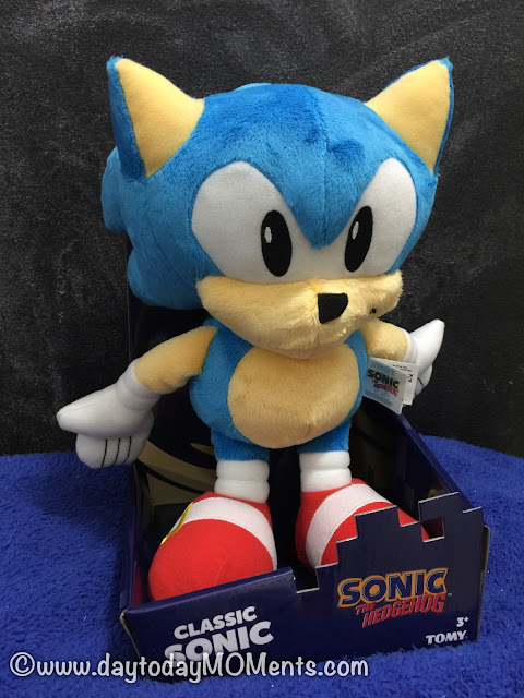 """12"""" Classic Sonic Plush Toy by TOMY"""