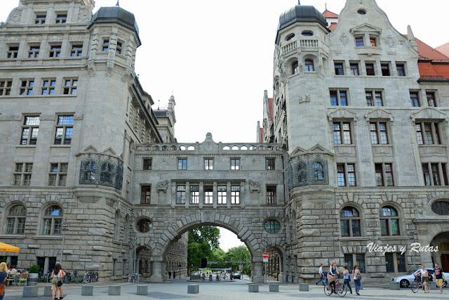 Ayuntamiento Nuevo, Lepzig, Alemania