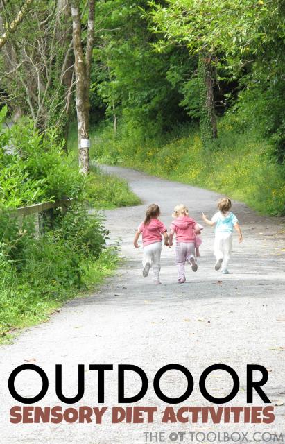 Outdoor Sensory Diet Activities