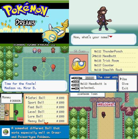 Pokemon dreams gba rom download