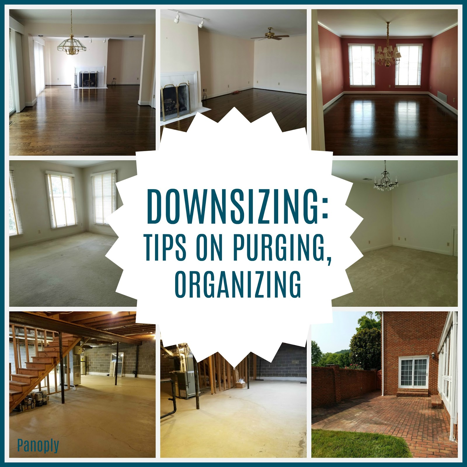 . Panoply  Downsizing  Tips on Purging  Organizing