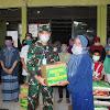 Pangdam Hasanuddin Sumbangkan Sembako Ke Panti Asuhan di Wilayah Makassar