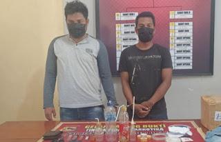 Lagi, Polres Bima Kota Amankan Dua Terduga Pelaku Narkotika di Sape