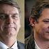 BTG/FSB: Bolsonaro mantém 33% e Haddad salta a 23%