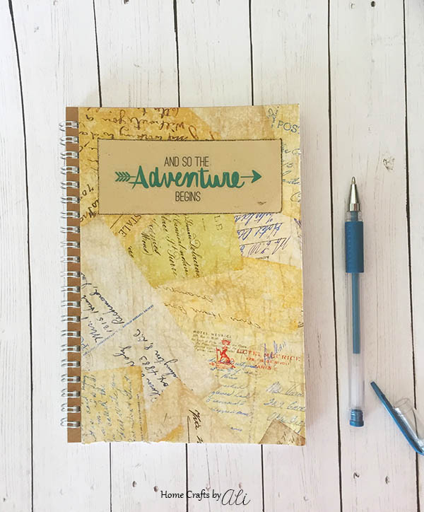 DIY Travel Journal Beginner Craft for Anyone