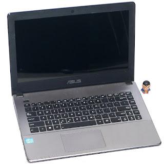 Laptop ASUS X450CA Core i3 Second Malang