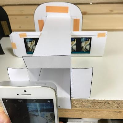 handmade-filmscanner smartphone