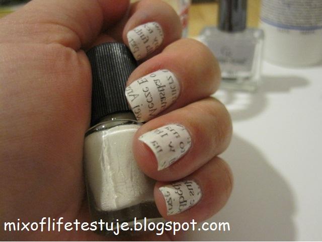 press nails