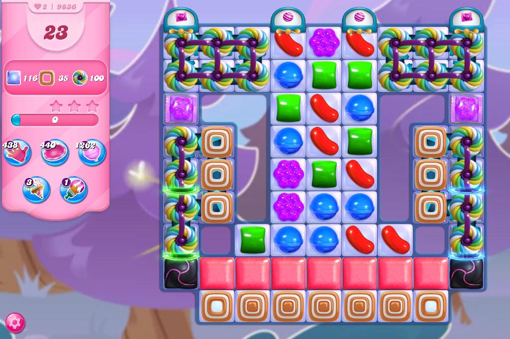 Candy Crush Saga level 9836
