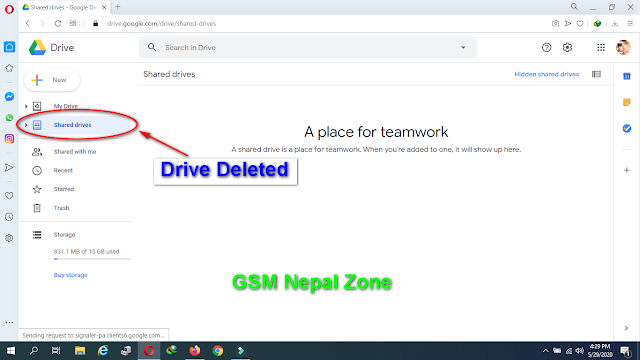 """How to delete Google Drive """"Shared Drives"""" Folder from your account [100% Working Method]"""