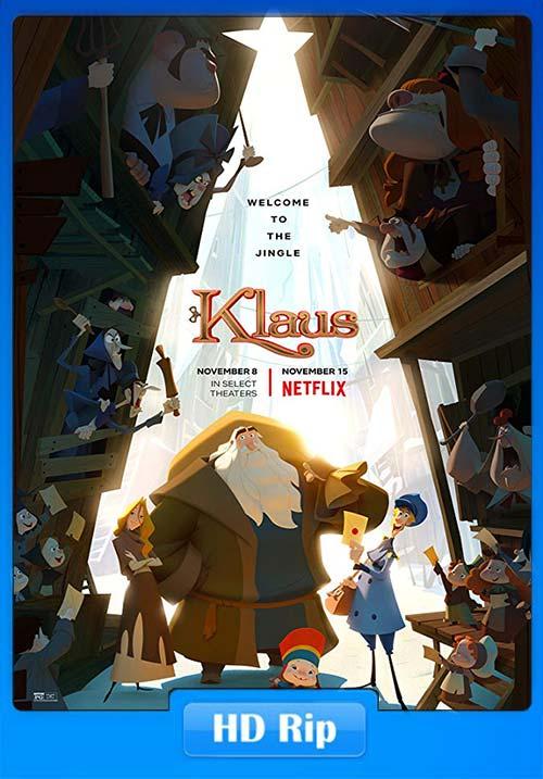 Klaus 2019 720p WEBRip x264 | 480p 300MB | 100MB HEVC Poster