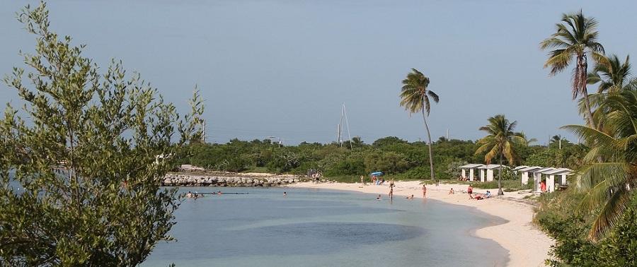 Playa en el Bahia Honda State Park