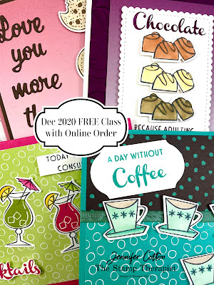 Nothing's Better Than bundle by Stampin' Up!.  FREE class to make 4 cards with online order in Dec 2020.  #StampTherapist #Stampinup