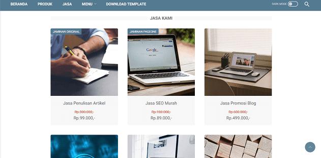 Panduan Membuat Toko Online Blogspot