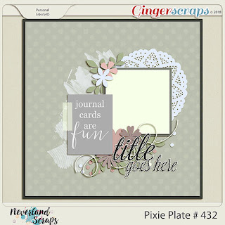 Creative Team, Annemarie, for GingerScraps -  Potty Masters by Magical Scraps Galore and June 2018 - Template #2 Challenge and Freebie Template