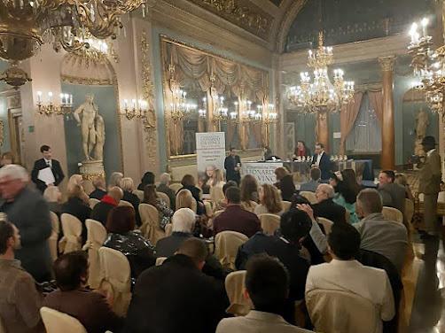 Ceremonia en el Gran Salón del Palazzo Borghese de Florencia