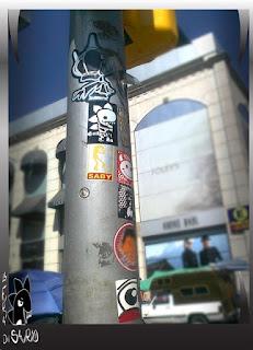 sticker street art CDMX