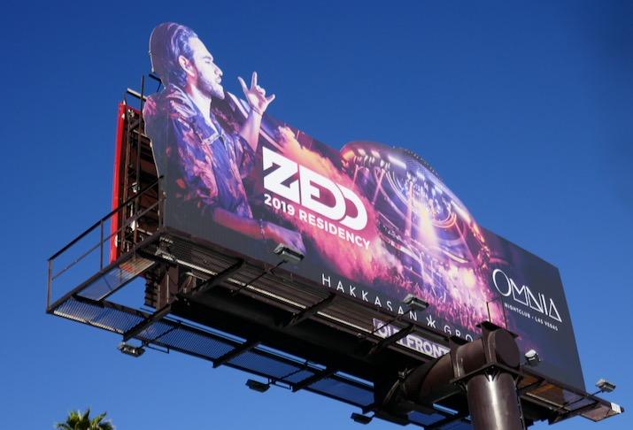 Zedd Omnia 2019 billboard