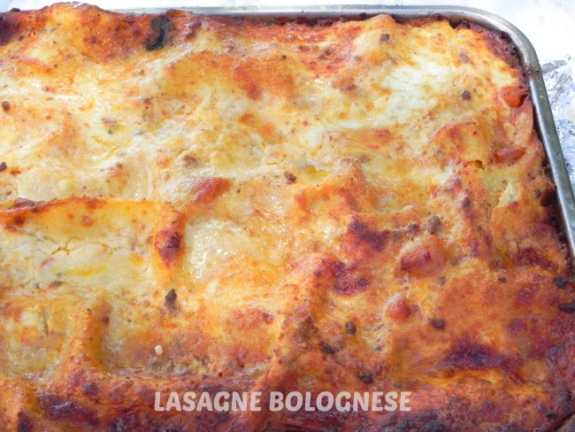 Lasagne Bolognese and an Italian Grigliata