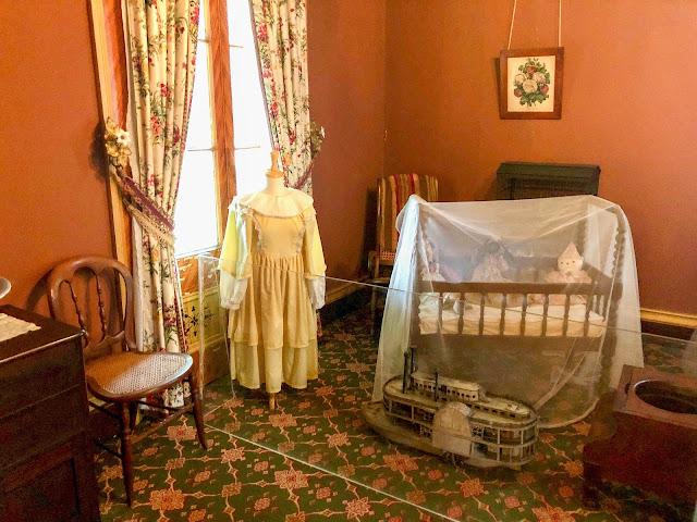 Children's Bedroom, San Francisco Plantation Big House.
