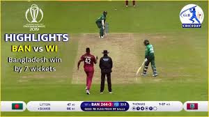 Bangladesh vs West Indies World Cup 2019