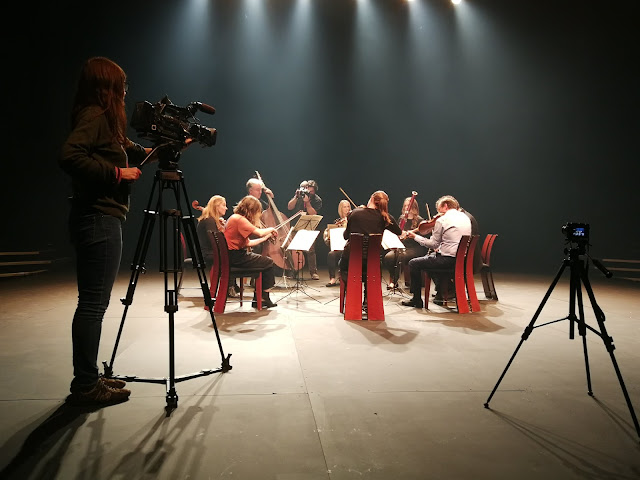 Ensemble 360 filmed at Crucible Theatre by Soundhouse Media