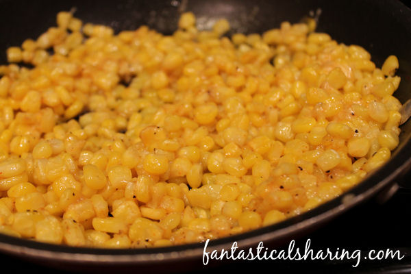 Easy Addictive Corn // 6 simple ingredients to make the best corn you'll ever have! #SundaySupper #corn #sidedish