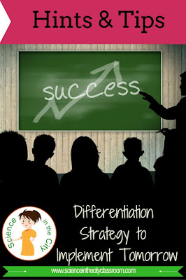 An easy to implement strategy for differentiation in group work on independent work. Hints, tips, and examples.