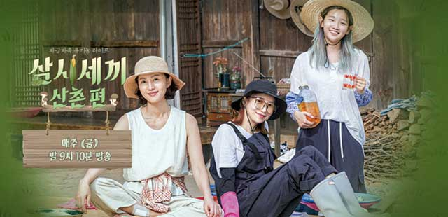 Download Reality Show Korea Three Meals a Day: Mountain Village Batch Subtitle Indonesia