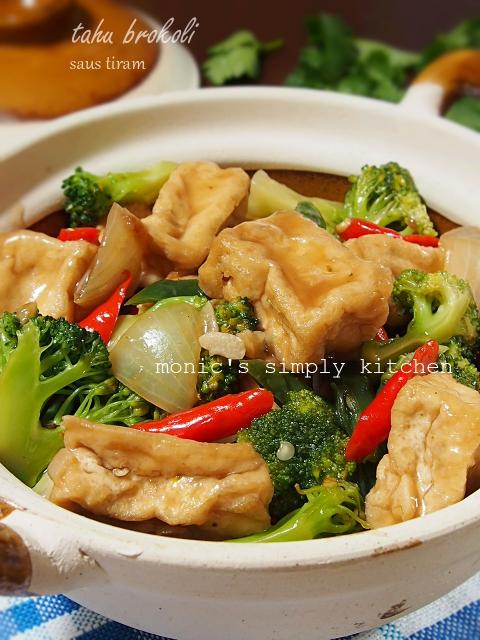 resep mudah tahu brokoli