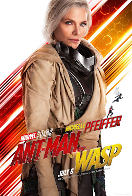 Marvel's Ant-Man and the Wasp Janet van Dyne poster