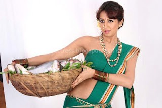 Hot sanjana hot in saree pics