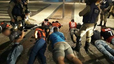 Flamenguistas são presos após confronto com torcedores do Independiente