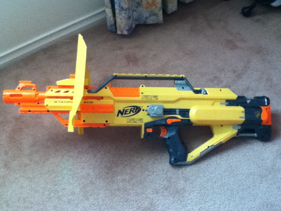 Outback Nerf Nerf Stampede Ecs Review