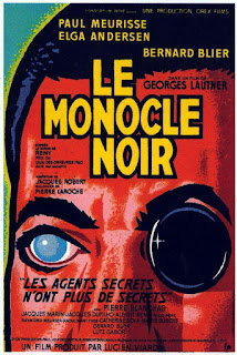 Watch The Black Monocle (Le monocle noir) (1961) movie free online