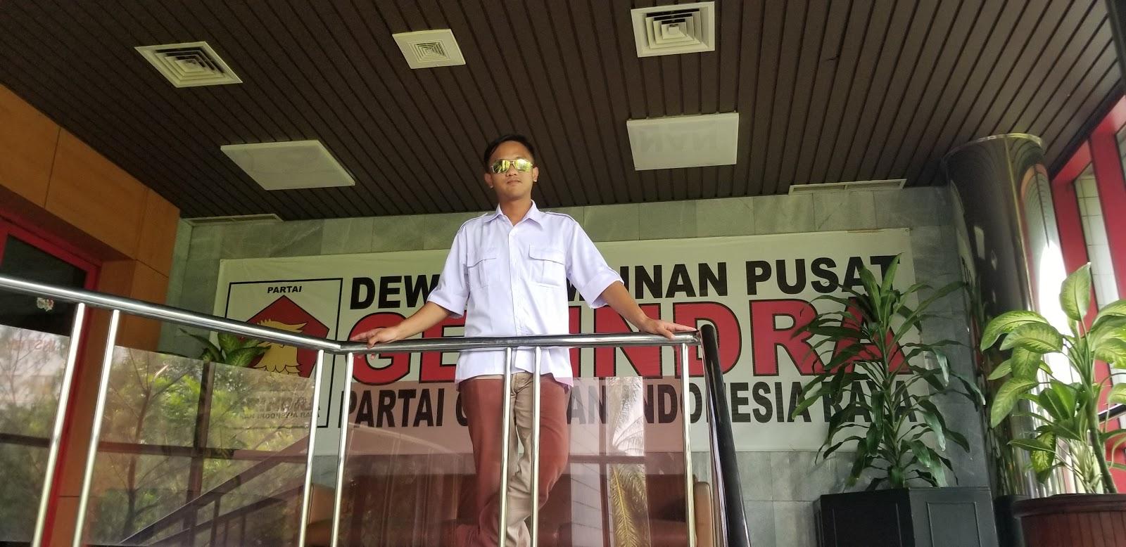 Kantor Dewan Pimpinan Pusat (DPP) Partai Gerakan Indonesia Raya (Gerindra) - Jakarta Selatan