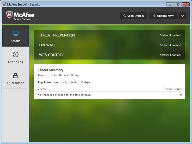 تحميل برنامج McAfee Endpoint Security 10.7.0.812.4 النسخة الكاملة