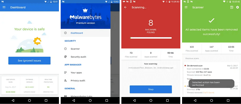 Malwarebytes Security Android Terbaik
