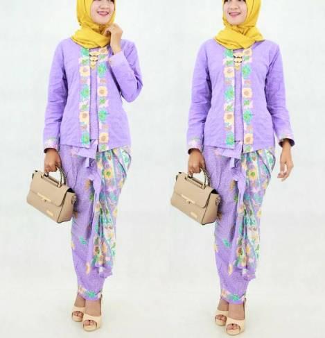 model kebaya batik simpel
