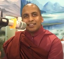 チャンディマ・ガンゴダウィラ長老 Bhante Dr. Gangodawila Chandima