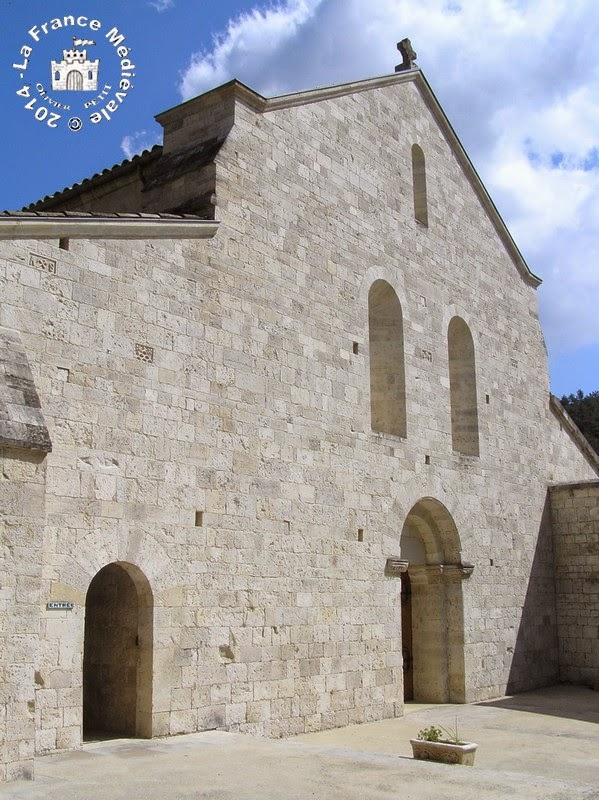 MONTJOYER (26) - Abbaye Notre-Dame d'Aiguebelle