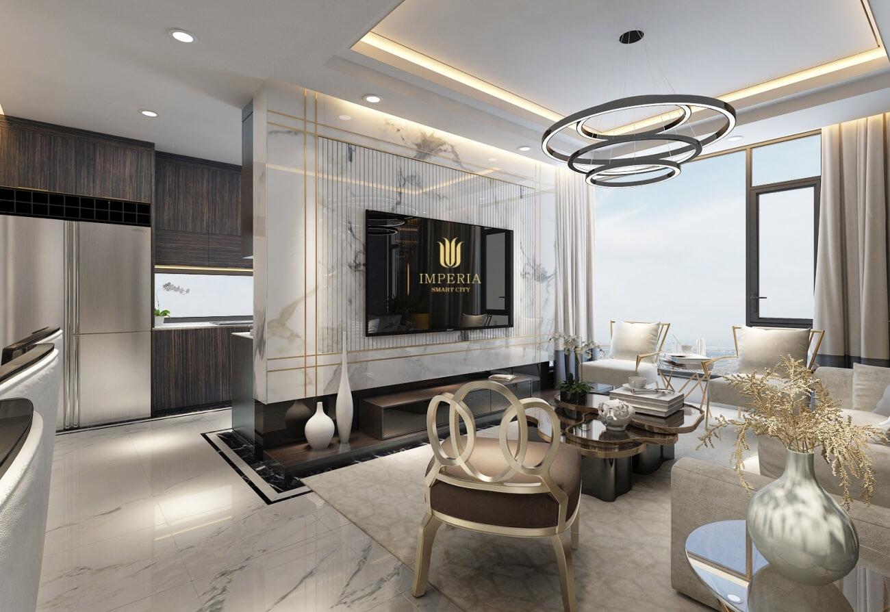Nội thất căn hộ Imperia Smart City MIK