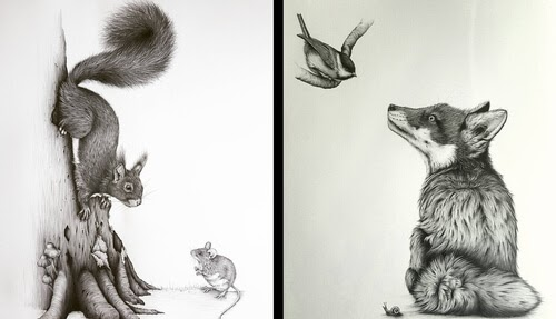 00-Kerry-Jane-Detailed-Black-and-White-Wildlife-Drawings-www-designstack-co