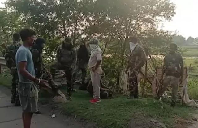पुलिस और केंद्रीय रिजर्व पुलिस बल (CRPF) ने  एनकाउंटर के दौरान तीन नक्सलियों को मार गिराया, मौके से भारी मात्रा में हथियार बरामद