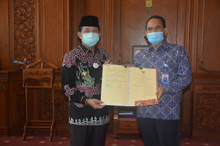 Wujudkan Tata Kelola Pemerintahan yang Baik,  Fachrori Teken MoU dengan BPKP Provinsi Jambi